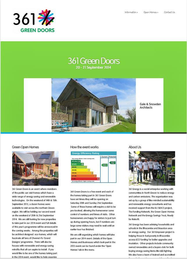Visit the 361 Green Doors website  sc 1 st  361 Energy & Green Doors | 361