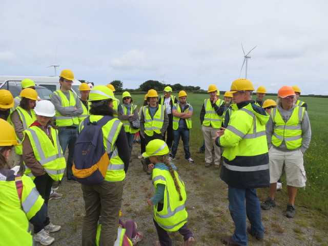 Fullabrook wind farm site visit