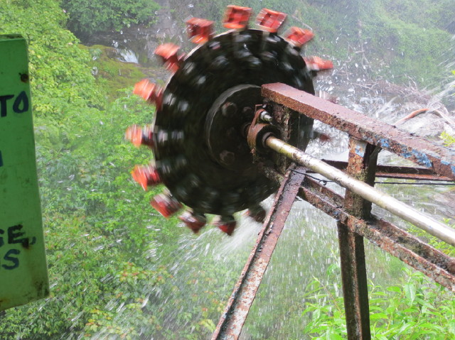 Demonstration turbine at Glen Lyn Gorge