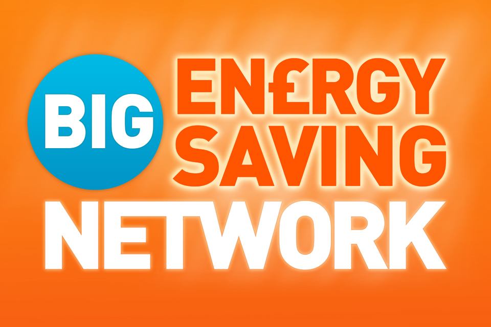 Save money on your Energy Bills with the Big Energy Saving Network