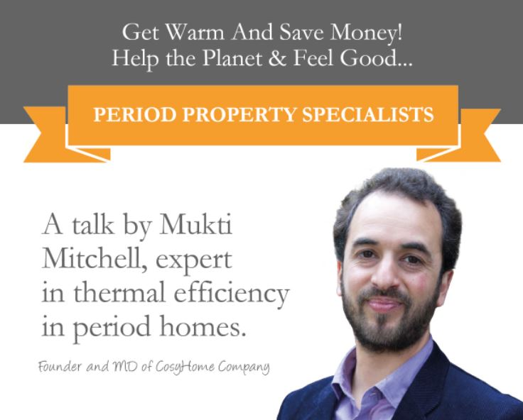 Find out about low carbon living from Mukti Mitchell, founder of CosyHome Company