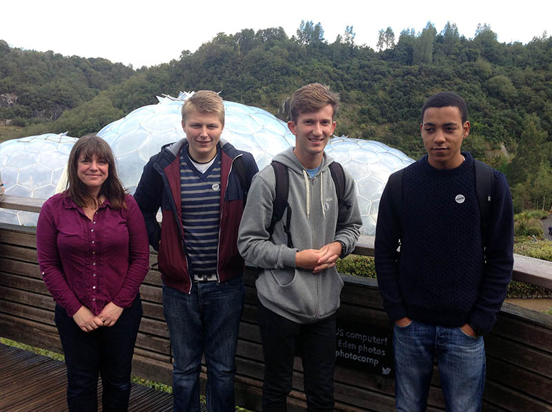 Recruiting students for the Petroc Foundation Degree in Environmental Management