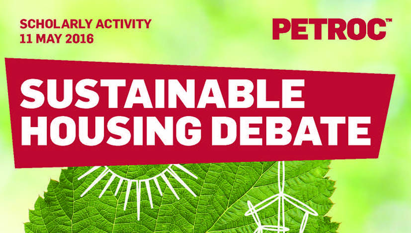 Petroc Sustainable Housing Debate
