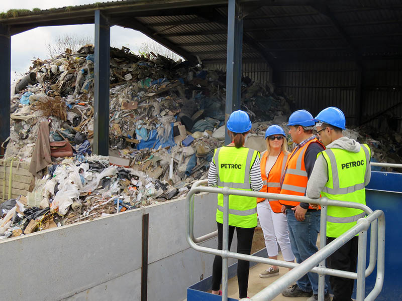Waste management at SWM & Waste Recycling Ltd